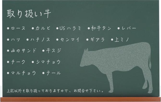 牛・豚・鶏